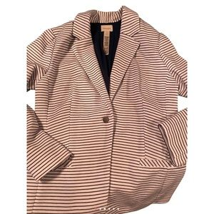 Chicos Striped Jacket
